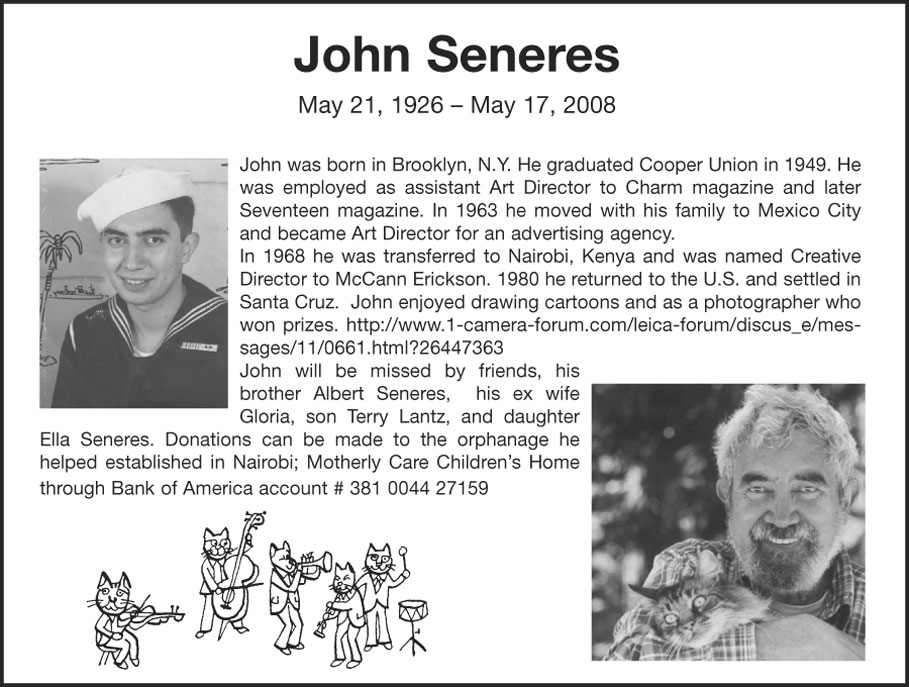 john seneres bautista obituary may 17 2008 3:45 pm
