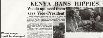 hippys being banned from kenya