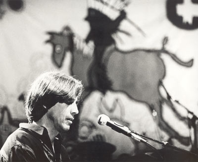 jackson browne at a native american benefit