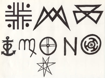 sigils and symbols vital to ella